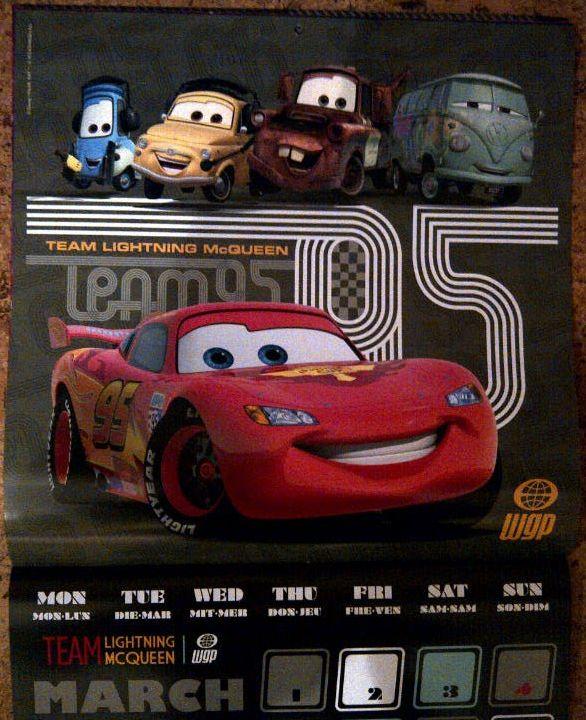 teNeues Cars 2 Kalender 2012 Monatsblatt