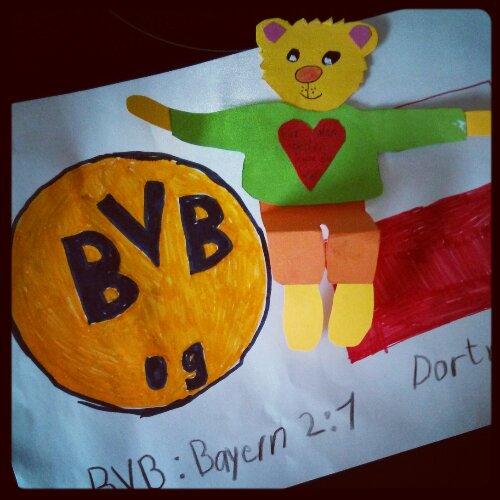 Kantenhocker Teddy Vatertag Borussia Dortmund BVB